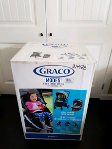 Stroller Graco 3 in 1 infant to toddler  Brand New