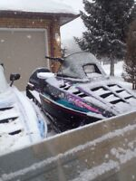 I would like to trade my mint 1996 Polaris XLT 600,