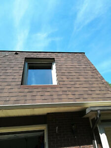 Shingles Reattached