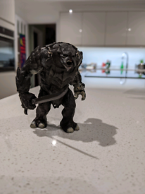 Lord of the rings limited edition armoured troll