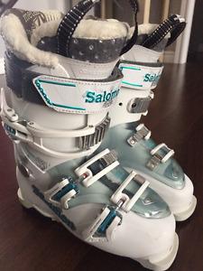 Ladies Ski Boots - Salomon Quest Access 55W - 23.5 - Like New!