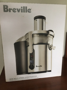 Breville Ikon Multi Speed Juice Fontaine