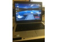 Toshiba equium l40-10x laptop with case