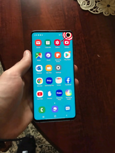 Samsung S10 - Blue 128GB - Perfect Condition