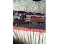 Transport Lorry with 10 cars Brand New in Box