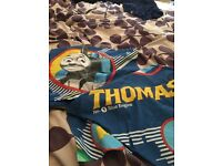 Thomas tank engine cot bed duvet cover and pillowcase