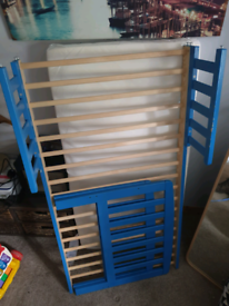 Child's cot bed from Ikea