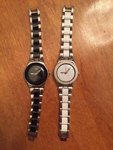 2 SWATCH WATCHES -