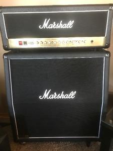 100 /50 Watt Marshall Half Stack Tube Amp