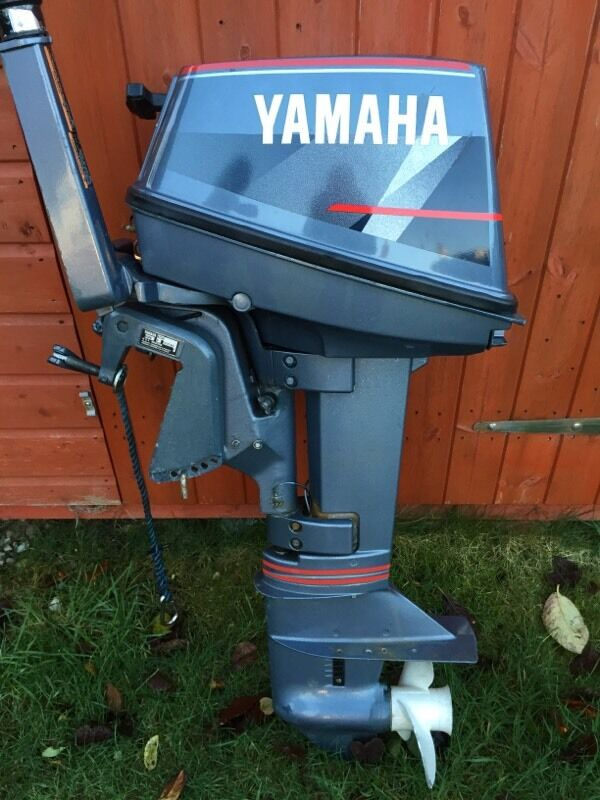 Yamaha 6hp outboard boat engine dinghy rib 2 stroke in for 6hp outboard motor electric start