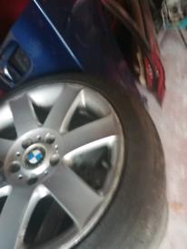 BMW E46 318ci msport convertible alloy's.