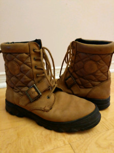 Polo by Ralph Lauren girl's military style boots (youth 3.5 US)