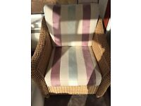Conservatory arm chair X2