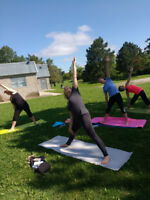 Wellness Yoga in the Park Wednesday eves. til mid Aug  630pm
