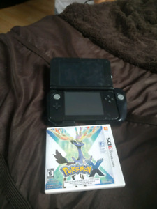Black 3DS For Sale with circle pad pro