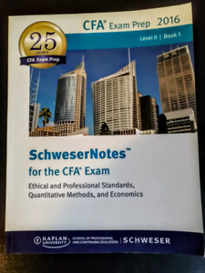 CFA 2016 Level 2 Book 1