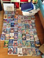 Disney and other VHS movies for sale