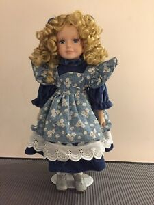Genuine Porcelain Doll - hand painted