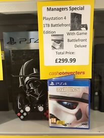 PlayStation 4 - Star Wars Battlefront Edition (Fully boxed)