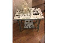 Shabby chic side table £20 b on Avon