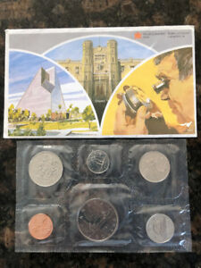 1981 Royal Canadian Mint Coins(uncirculated)