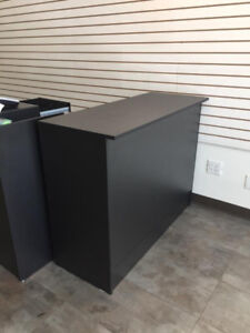 Free - 3 black RETAIL COUNTERS - as new