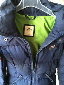 Hollister winter coat (two available)