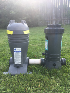 Chlorinator and Mineral Filter