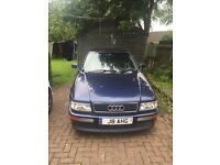 Audi coupe 1996 2.6 v6 with private plate