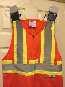 High Visibility Coveralls /  Overalls / Work Clothes