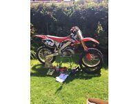 2005 cr250 Honda cr 250