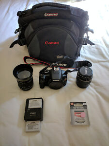 Canon T2i DSLR Bundle