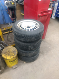 Mercedes snow winter tires