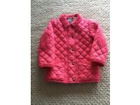 Girls Joules coat size 3 years