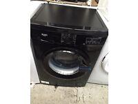 New Graded Bush 8kg Washing Machine - Black