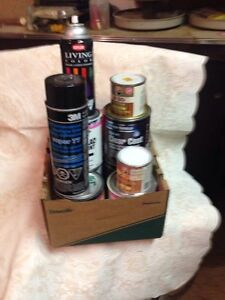 various PAINTS & STAINS/other in 250 ml  sizes