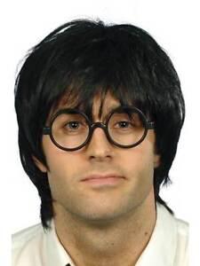 Hombre-Colegial-Set-Disfraz-Escuela-Estudiante-Geek-Nerd-Chic-Nino-Peluca-Gafas