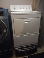 Kenmore Dryer with Pedistal