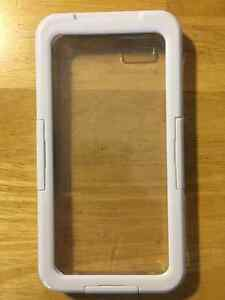 iPhone 6 Case w/ Screen Protector - White Peterborough Peterborough Area image 1
