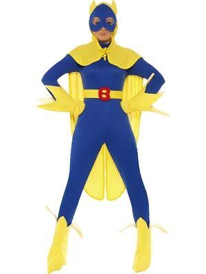 Banana Man Kostüm für Damen Bananenmann - Smiffys Banane Kostüm