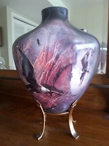 Spirit of the Eagle, Limited Edition Vase