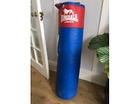 Lonsdale Punchbag Red and Blue 4' height
