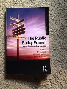 The public policy primer London Ontario image 1