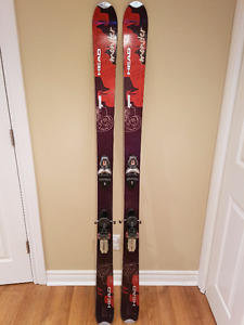 Skis Head Monster im88  edition 2009 et Rossignol Axial 2Ti