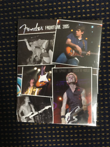 Fender Frontline Catalogue 2005 Hardcover Book! Sealed!