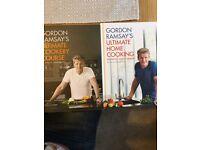 Gordon Ramsey cook books x2
