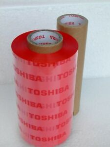 Thermal Transfer Ribbons - Red or Blue (2)