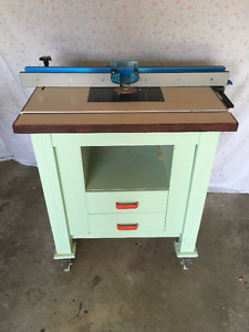 Router Table with freud Router