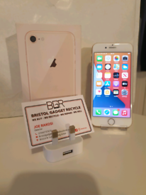 Excellent Condition Apple iPhone 8 Gold 64GB + 1-Month Warranty Unlock