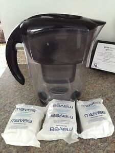 Mavea water pitcher with 4 filters